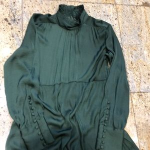 Zara Emerald dress